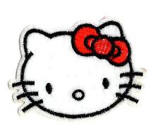 HELLO KITTY Iron on / Sew on Patch Embroidered Badge Cartoon TV PT65