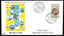 Niger - FDC Ersttagsbrief Rat der Entente 1960 Mi. 15