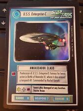 Star Trek CCG Reflections U.S.S. Enterprise-C FOIL NrMint-MINT