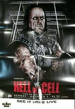 WWE Hell In A Cell 2010 PPV Poster, The Undertaker, Excellent Condition