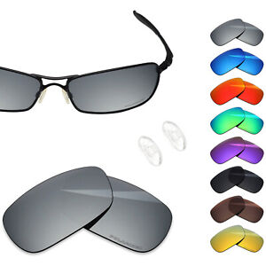 BlazerBuck Polarized Etching  Lenses for-Oakley Crosshair 2.0 OO4044 - Options