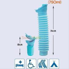 Male Female REUSABLE Portable Camping Car Travel Pee Urinal Urine Toilet 750ml