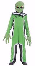 Alien Costume Youth Medium Child Light Up Talking Mask Xtreme Costumes New