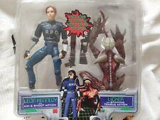 Resident Evil 2 capcom Leon Licker Playstation Figurines 1998 in plastic retro