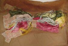 18-20 Old Vintage Hemingway Japan Floss Sewing Threads Oriental Dyes in Pkgs TMP