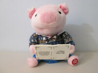 Cuddle Barn Animated Talking Pig 3 Little Pigs Story