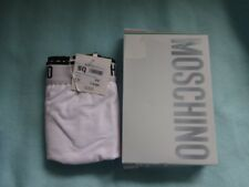 Moschino White Boxers Size XXL