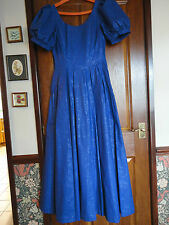1970'S VINTAGE LAURA ASHLEY FULL LENGTH  BALL GOWN, 100% COTTON