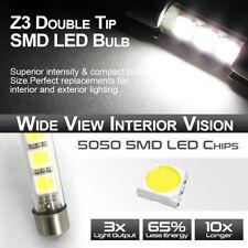 4x Festoon C5W 36MM 3 SMD 5050 Chip LED Interior Reading Door Map Dome Lights