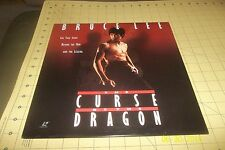 BRUCE LEE: THE CURSE OF THE DRAGON - Documentary - LASERDISC - Chuck Norris