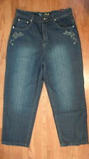 NWT SOITHPOLE Urban Style Dark Wash Cotton  Denim 36x32 Relaxed Fit Jeans (1346)