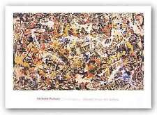 ABSTRACT ART PRINT Convergence Jackson Pollock