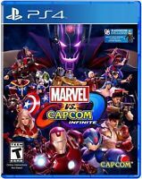 PLAYSTATION 4 PS4 GAME MARVEL VS. CAPCOM INFINITE BRAND NEW AND SEALED