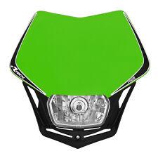 MASCHERINA PORTAFARO RACETECH V-FACE VERDE (Green Headlight) - COD.R-MASKVENR008