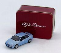 modellino da collezione ALFA ROMEO 156 LIGHT BLUE SOLIDO 1/43