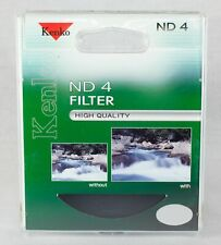 Kenko-Tokina 62mm ND-4 (ND0.6) Digital Neutral Density Camera Filter - KB-62ND4