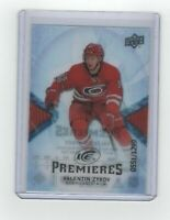 17-18 Upper Deck Ice ROOKIE Premieres Zykov RC #D 551/1299 Hurricanes