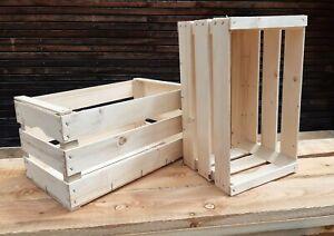 Set 6 cassette della frutta in legno nuove allestimento 50x30x27 peso 1.6 kg
