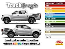 NISSAN NAVARA Pick up 4x4 VEHICLE GRAPHICS DECALS STICKER SET