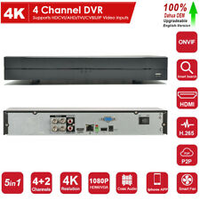 Dahua Oem 4Ch 4K Hybrid Dvr 5in1 Digital Video Recorder P2P For Security System