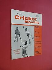 PLAYFAIR CRICKET MONTHLY. JUNE 1968. ILLUSTRATED MAGAZINE.