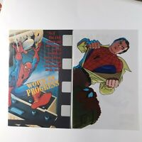 Spiderman Animation Cell & Spider Man 1994 Promo Comic (14-page Ashcan)