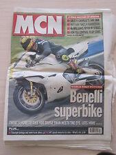 MCN Motor Cycle News July 7 th 1999
