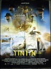 TINTIN : SECRET DE LA LICORNE - Spielberg - AFFICHE 120x160/47x63 FRENCH POSTER