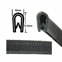 Large Black Car EDGE TRIM SEAL - Interior & Exterior - PVC Rubber Van Boat Truck