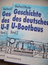 2 Bd. Geschichte des deutschen U-Bootbaus U-Boot 1996