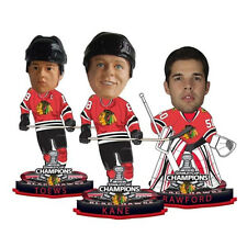 Chicago Blackhawks Stanley Cup Champion Mini Bobble Heads