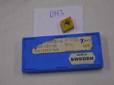6 NEW SECO CNMG 432-58 CARBIDE INSERTS. CNMG 120108-58 GRADE: TP15. {D143}