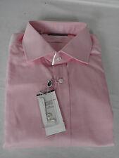 "NEW Ralph Lauren PURPLE LABEL Mens Pink 100% Cotton SHIRT UK 17"" RRP £290"