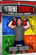 Steve Cotter - Extreme Strength - 12 week Kettlebell DVD - Brand NEW!