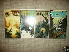 (2004) DC COMICS LIGHT BRIGADE #1-4 COMPLETE SERIES! ANGELS IN WORLD WAR II! NM