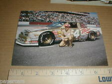 Dick Trickle 1989 Buick Stavola Brothers Nascar auto racing NM postcard handout
