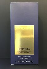 Bath and Body Works Cypress Men's Collection Cologne 100 ml 3.4 oz