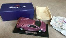 Lamborghini SE 1/18 Scale Diecast model by GWILO with box & certificate