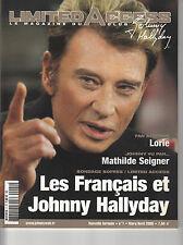 LIMITED ACCESS N°1 / JOHNNY HALLYDAY / MAGAZINE DU CLUB