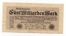 Duitsland / Germany - 5.000.000.000 Mark 1923