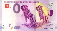 SUISSE Martigny, Relais du St-Bernard 3, N° de la 3è, 2018, Billet 0 € Souvenir