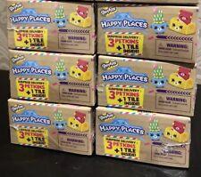 Shopkins Happy Places Surprise Delivery 6 x Blindboxes Blind Box Cute