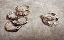 M7AH/ Stackable Diamond Rings - Size 6