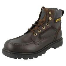 Chaussures marrons CAT pour homme, pointure 46