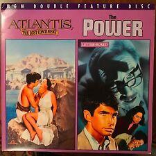 Atlantis der verlorene Kontinent/die macht-Laserdisc kaufen 6 Gratis Versand