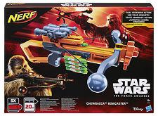 Nerf Star Wars Episode VII Chewbacca Bowcaster Armbrust +Visier+Darthalter+Darts