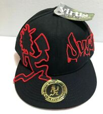 VIRTI Insane Clown Posse ICP HATCHET MAN JUGGALO Black/RED Licensed Hat NWT