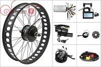 Latest 36/48V 750W Bafang Freehub Fat Tire Rear Wheel Ebike Conversion Kit 190mm