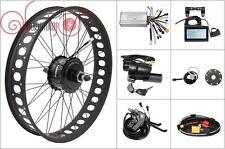 36/48V 500W Bafang Freehub Fat Tire Rear Wheel Ebike Conversion Kit 190mm