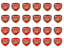 Arsenal Cupcake Edible Icing Party Cake Topper Decoration Image Custom